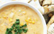 سوپ سرد جو دو سر پرک