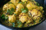 خورش مرغ هندی با ماست