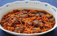 خورش هویج ترکی
