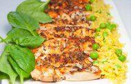 دستور پخت آسان سینه مرغ با تخم کتان