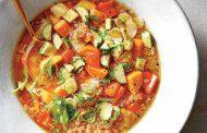 سوپ کینوا سبزیجات