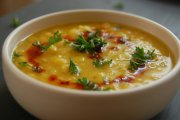 سوپی لذیذ با بلغور جو دوسر