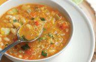 سوپی لذیذ با کینوا
