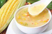 سوپ تابستانی کدو مسما و ذرت