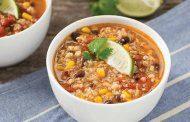 سوپ بدون گلوتن بسیار مقوی با کینوا
