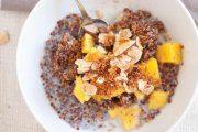 صبحانه ای لذیذ با کینوا پرک