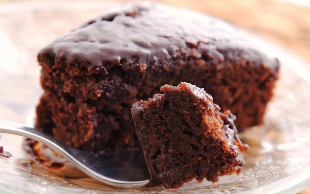 طرز تهیه کیک شکلاتی با جو دو سر