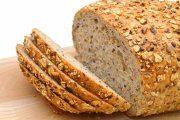 نان با تخم کتان بو داده