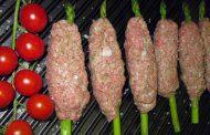 کباب تابه ای با گوشت گوسفند یا گوساله