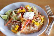 خوراک ماهی و سیب زمینی مکزیکی