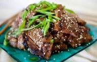 خوراک گوشت کره ای (بول گوکی)