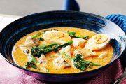 خورش ماهی تایلندی