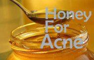 ویتامین E و عسل درمان کننده آثار جوش