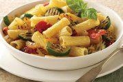 پاستا ریگاتی با سبزیجات