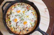 پیتزا تخم مرغ فلورانس