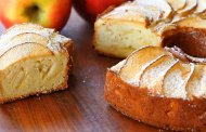 کیک پرک چاودار با سیب