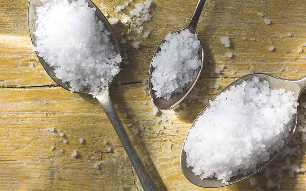مزایای شفا بخش نمک دریا