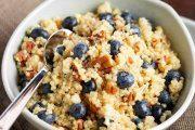 صبحانه ارگانیک و مقوی با پرک کینوا