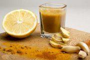 سم زدایی کبد با چای لیمو، زردچوبه و زنجبیل
