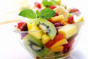 سالاد با میوه های استوایی
