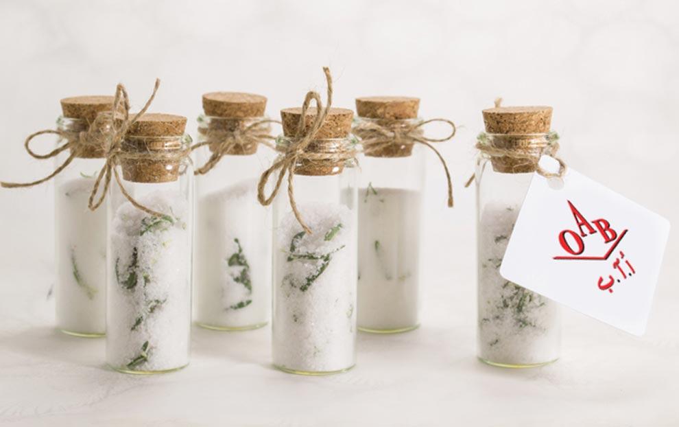 مزایای نمک دریا برای عروس خانمها