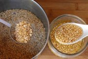 مصرف تخم کتان بو داده در آشپزی