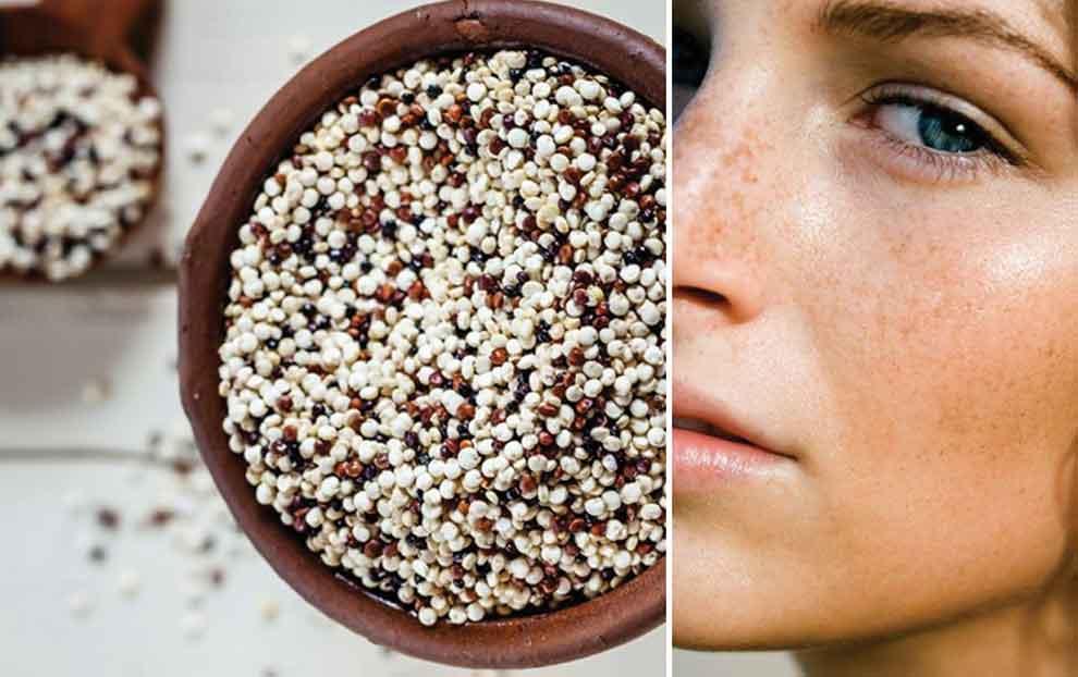 هفت ویژگی کینوا برای پوست، مو و زیبایی در بارداری و پس از آن