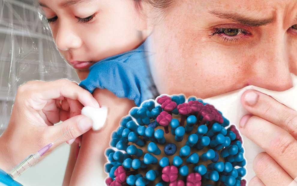 واکنش گروه خون AB نسبت به آنفلوانزا