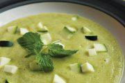 سوپ جو دوسر پرک با کدو سبز