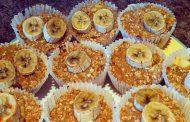 کیک فنجانی موز و سیب با کینوا