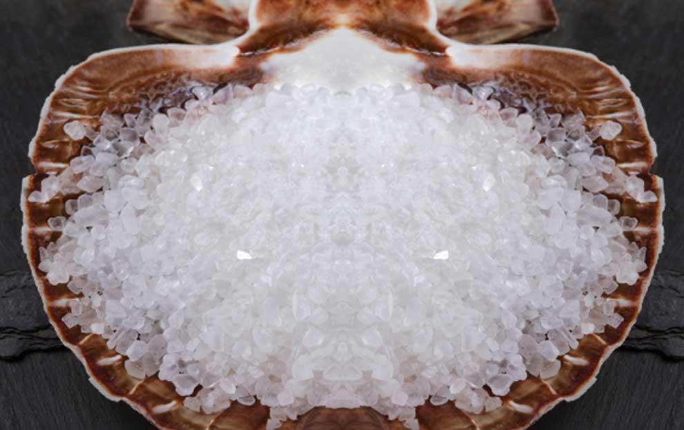 10 خواص مغذی استفاده از نمک دریا