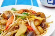 خوراک سبزیجات به سبک چینی