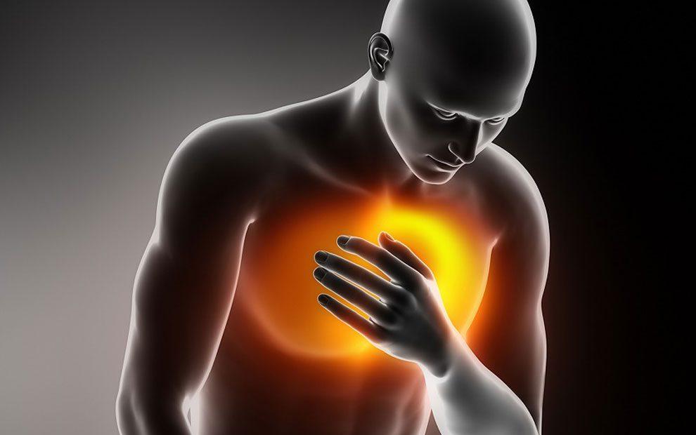 درمان درد جلوی قفسه سینه و قلب (طب سنتی)