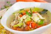 سوپ گیاهی ایتالیایی