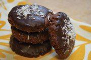 طرز تهیه شیرینی نوروزی : کوکی دوبل شکلاتی