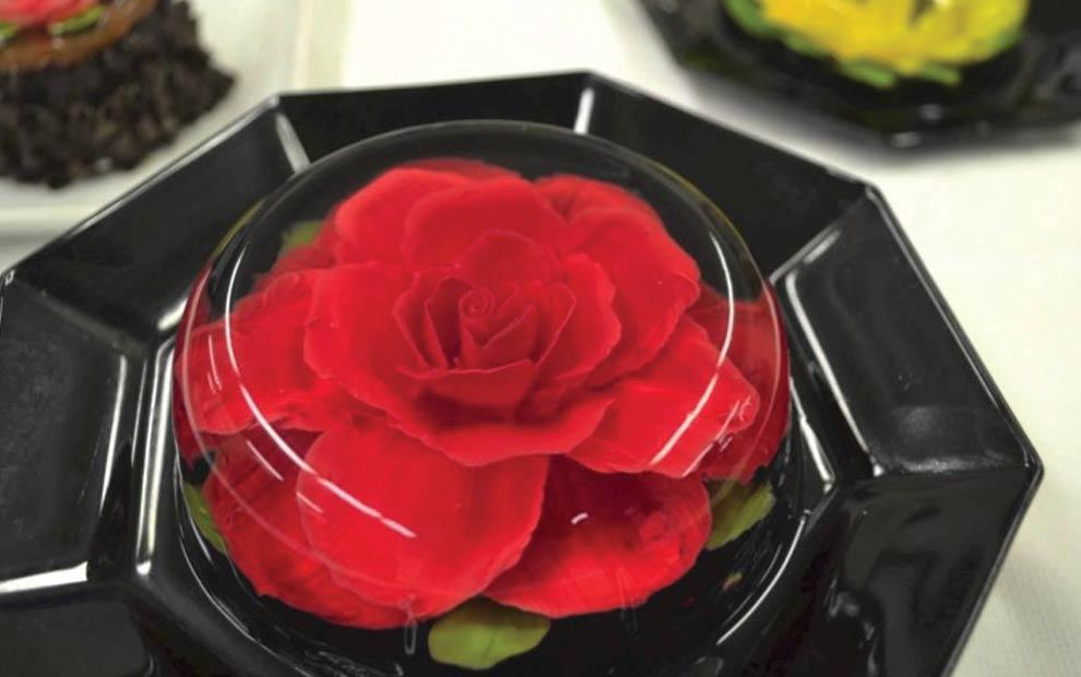 طرز تهیه ژله گل سرخ
