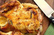 مرغ تنوری ایتالیایی و پاستا