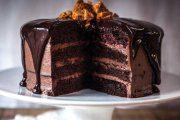 کیک سیاه(شکلاتی)