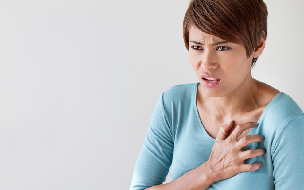 ۷ علامت نهفته حمله قلبی در زنان