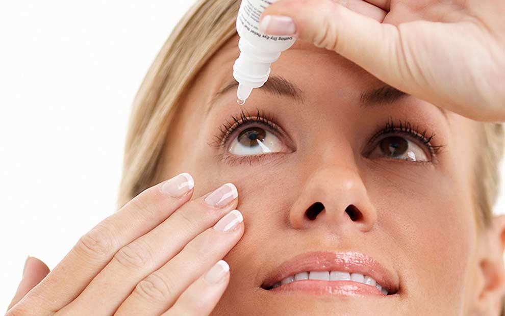 استفاده از قطره چشم