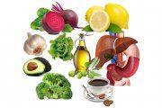 توصیه های تغذیه ای برای سلامت کبد
