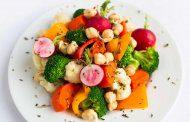 طرز تهیه سبزیجات مناسب گروه خونی AB