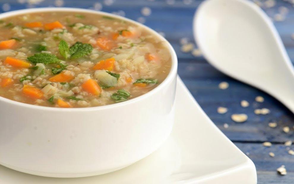 سوپ جو دوسر برای کودکان