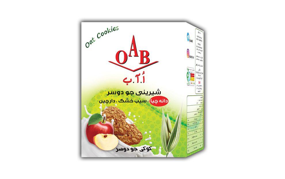 کوکی جو دوسر ( دانه چیا ارگانیک،سیب خشک،دارچین ) ۱۹۰ گرمی