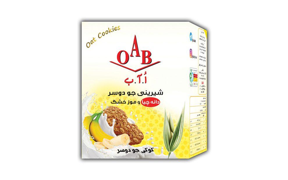 کوکی جو دوسر ( دانه چیا ارگانیک،موز خشک ) ۱۹۰ گرمی