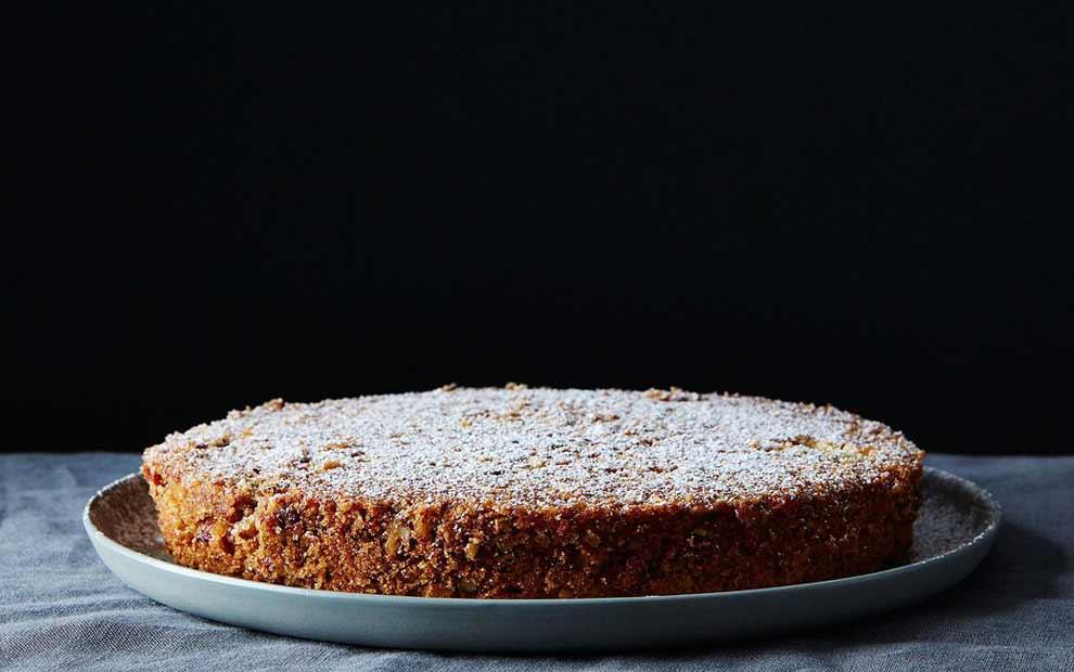 کیک شکلاتی با آرد جو دوسر